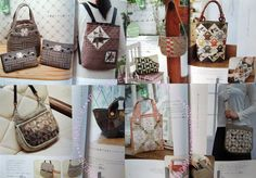Best Bags for Patchwork Class Japanese Craft Book by PinkNelie