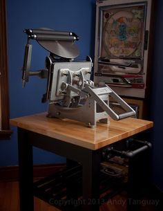 Kelsey Excelsior Model 'X' Letterpress, fully restored with new rollers and trucks, custom made leather handle cover, polymer plate bed. Letterpress Drawer, Letterpress Machine, Letterpress Printing, Printing Press, 3d Printing, Print Finishes, Ex Machina, Work Tools, Vintage Tools