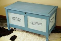 Can I Mix Miss Mustard Seed's Milk Paint with Annie Sloan's Chalk Paint? (and Applying Graphics to Furniture)