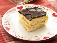 Puddingkoek met chocolade