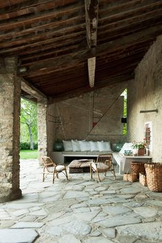 Discover garden room design ideas on HOUSE - design, food and travel by House & Garden. A summer sitting room in Florence.