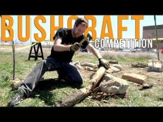 Bushcraft Competition - Knife HQ (Blade HQ's YouTube channel)