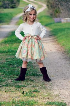 Leigh - Girls Easter Dress - Secret Garden - Ready to Ship - Sizes 4T and 5T. $64.00, via Etsy.