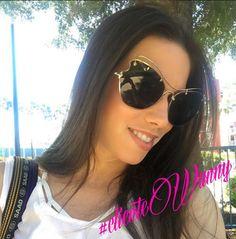 ✨ #ᎠᏆᏙᎪ Renata ✨ A primeira #brasileira a usar o MARAVILHOSO MIU MIU, e levou todo o seu estilo para os #EUA ✈️😎 ARRASOU Renata!! Aproveite sua viagem! 😘 #clientewanny #linda #fashion #moda #miumiuscenique #miumiueyewear #oticaswanny #trip #oticaswannyworld #disney #miumiu #wannynews