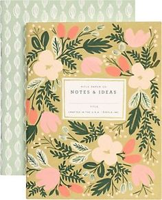 Rifle Mini Floral Pattern Journals