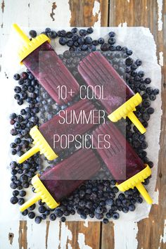 10+ Cool Summer Popsicles