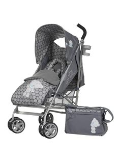 Tiny Tatty Teddy Stroller Bundle - Grey | very.co.uk