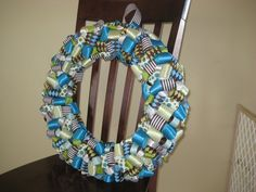 Ribbon Wreath Tutorial. I am going to try and make a Mickey Mouse one for my Nephew for his door to his room!!!