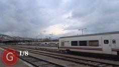 GRANADA | BEIRO | Estación de tren desde el interior antes de las obras del AVE. 1/8