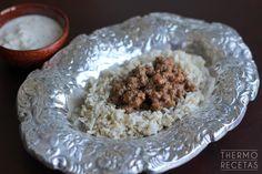 Tapas, Comida India, Curry, Carne Picada, Oatmeal, Breakfast, Dado, Rice, Chicken