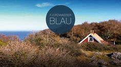 Fjord mit Meer, Wald und Haus. Corporate Design, Web Design, Fjord, Sweden, Marketing, Colors, Advertising Agency, Woodland Forest, Water