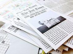 Jett's Little Newsboy Birth Announcements | Design + Photo: SHE Paperie | Letterpress Printing: Somersault Letterpress | Newborn Photograph: Natalie Ann Photography