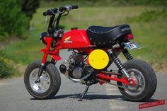Honda Monkey Rouge - mini4temps.fr