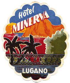 Svizzera - Lugano - Hotel Minerva