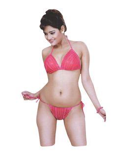 bd02fc0cb9 Indiatrendzs Women Sexy Pink Night Dress Net Lingerie Set For Sex Pack Of 3   nighty