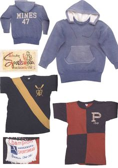 1950s champion sportswear ... In love with the hoodie