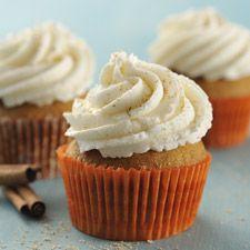 Pumpkin & Spice Cupcakes : King Arthur Flour