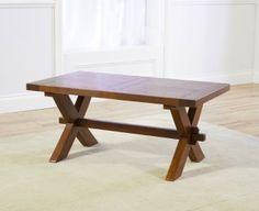 Mark Harris Avignon Solid Dark Oak Coffee Table