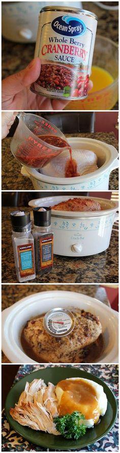 Turkey Breast of Wonder (Crock Pot) - kiss recipe