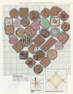 cuisine - kitchen - chocolat .1 - point de croix - cross stitch - Blog : http://broderiemimie44.canalblog.com/