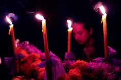 Uruapan - Día de muertos por Chad Santoselsantosen Tumblr