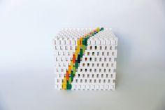 Lego sculpture - box frame
