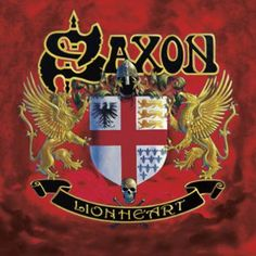 """L'album dei #Saxon intitolato """"Lionheart""""."""