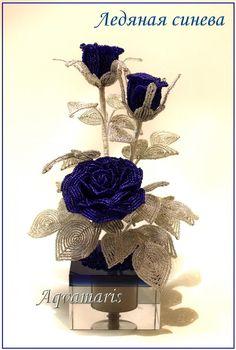 Ледяная синева | biser.info - всё о бисере и бисерном творчестве