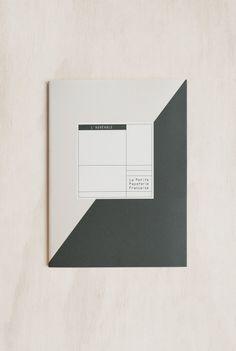La Petite Papeterie Francaise - The Pleasant Notebook - Dot Grid + Ruled -  A5 ( e1903f5195c19