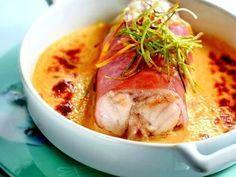 Recette de Lotte au jambon cru, sabayon au Riesling : la recette facile