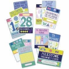 Cartes souvenirs Premiers moments de femme enceinte Pregnancy Cards