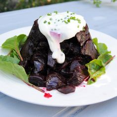 Christmas recipe: Roasted Pressed Beetroot with Sour Cream