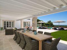Image of house or villa in Calvià Outdoor Furniture Sets, Outdoor Decor, Pergola, Villa, Outdoor Structures, Patio, House, Image, Home Decor