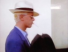 vezzipuss.tumblr.com — David Bowie, Singapore Airport, ready to embark om...