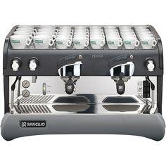 Rancilio+Epoca+S+Commercial+Espresso+Machine+-+semi-automatic,+2+group,+direct+connect