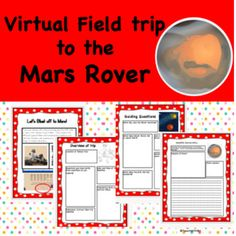 Mars Rover Virtual Field Trip Virtual Field Trips, Mars, Teaching Schools, Elementary Schools, Writing Activities, Learning Resources, Scientific Writing, Classroom, History Museum