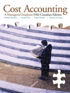 53 Free Test Bank for Cost Accounting A Managerial Emphasis 5th Canadian Edition by Horngren Multiple Choice Questions has been designed to provide prestigious experience for students to practice an abundance of interesting but highly concise accounting questions that they will encounter on the important CPA exams.