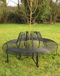Gallery - Full circle tree bench