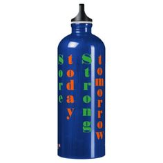 A stylish, fun, personalized, aluminum water bottle, featuring a cool motivational quote for people trying to get back in shape. Sports Humor, Funny Sports, Motivational Quotes, Funny Quotes, Best Water Bottle, Aluminum Water Bottles, Funny Gifts For Men, Getting Back In Shape, Funny Birthday Gifts