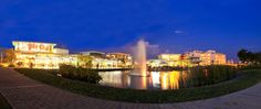 Solenad lakeside retail center Eco City, Philippines, Restaurants, Retail, Real Estate, Mansions, House Styles, Manor Houses, Real Estates