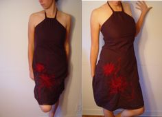 Evening dress. From Dynamite. Size S. 100% Cotton.