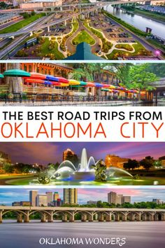 17 Spectacular Road Trips from Oklahoma City - Oklahoma Wonders Road Trip Essentials, Road Trip Hacks, Road Trips, Travel Guides, Travel Tips, Travel Advice, Travel Goals, Places To Travel, Travel Destinations