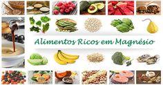 alimentos fontes de magnésio - Pesquisa Google