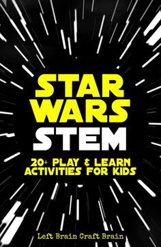 Engineering, science, math--all through Star Wars STEM activities!