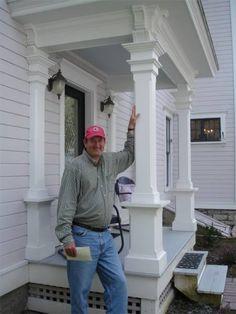 rebuilding porch columns - Yahoo Image Search Results