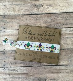 New orleans wedding favorsTo have and to hold by GlamGirlGoodies