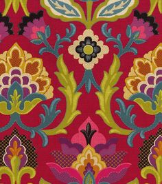 Waverly Upholstery Fabric-Isadora/Fiesta
