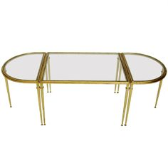 French Coffee Table by Roger Thibier | See more antique and modern Coffee and Cocktail Tables at http://www.1stdibs.com/furniture/tables/coffee-tables-cocktail-tables