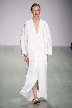 Eudon Choi at London Fashion Week Spring 2015.