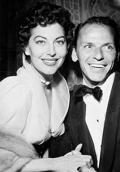 """We married in '51, separated in '53 and divorced in '57. I knew that a happy ever after marriage was never going to happen for me."" - Ava Gardner"